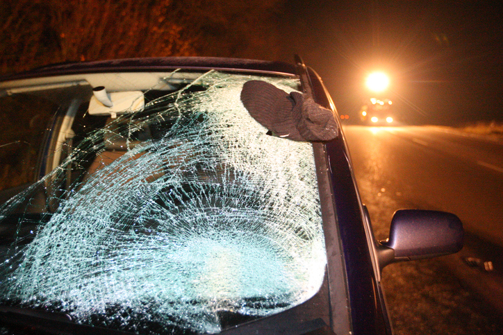 Injuries in a pedestrian hit and run accident