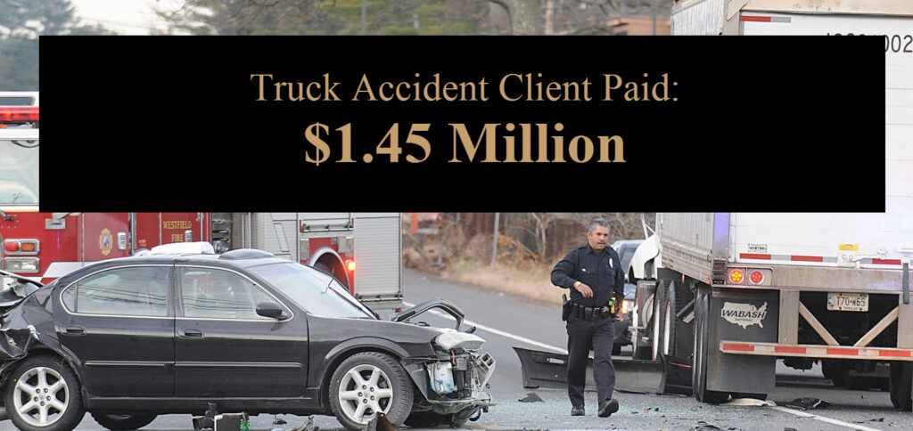 Orange County Commercial Truck Injury Accident