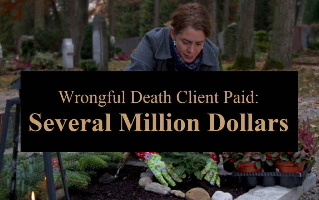 RJM Wrongful Death Settlement
