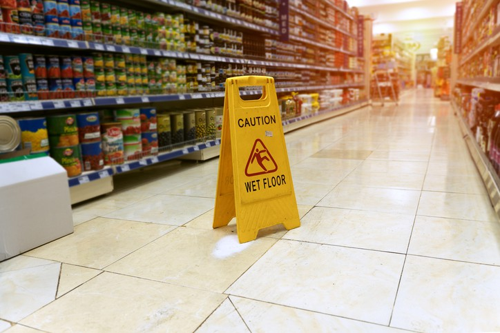 Can You Hold a Store Responsible for Injuries in a Slip and Fall